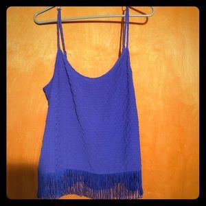 NWT Lilly Pulitzer fringe cami